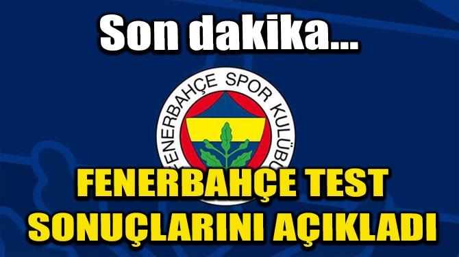 FENERBAHÇE'DEN CORONA VİRÜS AÇIKLAMASI!