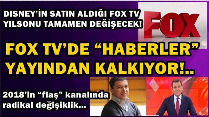 """FOX TV'DE """"HABERLER""""YAYINDAN KALKIYOR!.."""