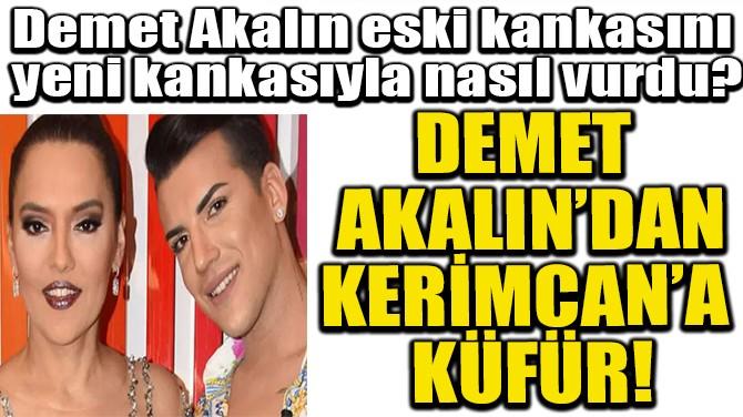 DEMET AKALIN'DAN KERİMCAN'A KÜFÜR!