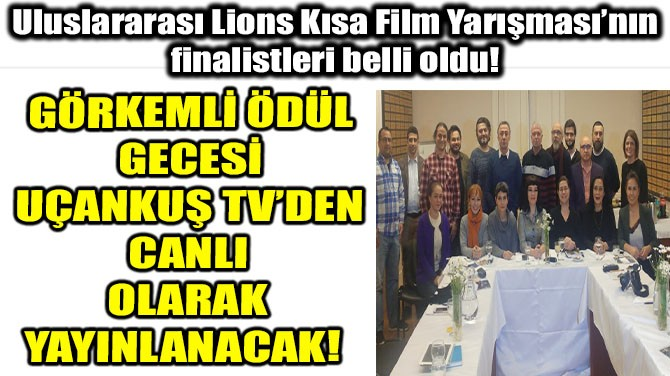 ÖDÜL ALACAK FİLMLER BELLİ OLDU!