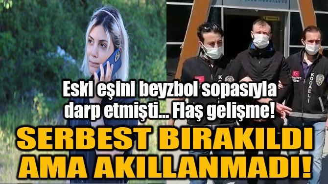 SERBEST BIRAKILDI AMA AKILLANMADI!