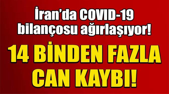 İRAN'DA SON 24 SAATTE CORONAVİRÜSTEN 217 ÖLÜM