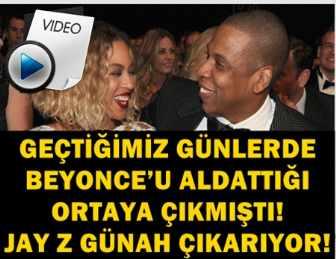BEYONCE'U ALDATTI, YETMEDİ! ALDATMA HİKAYESİNİ KLİP ÇEKTİ!..