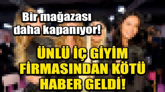 VİCTORİA'S SECRET'TAN HONG KONG KARARI!