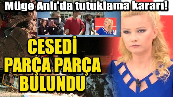 CESEDİ PARÇA PARÇA BULUNDU