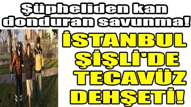 İSTANBUL ŞİŞLİ'DE TECAVÜZ DEHŞETİ!