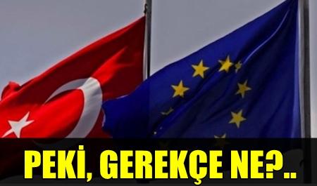 """DANİMARKA'DAN SKANDAL HAREKET!.. """"TÜRKİYE'NİN AB MÜZAKERELERİNE SON VERİLMELİ!.."""""""