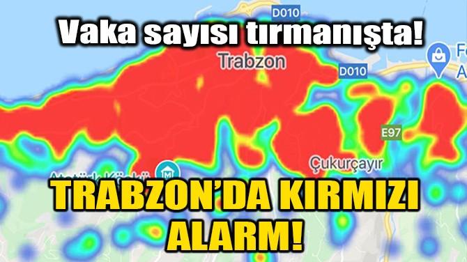 TRABZON'DA KIRMIZI ALARM!