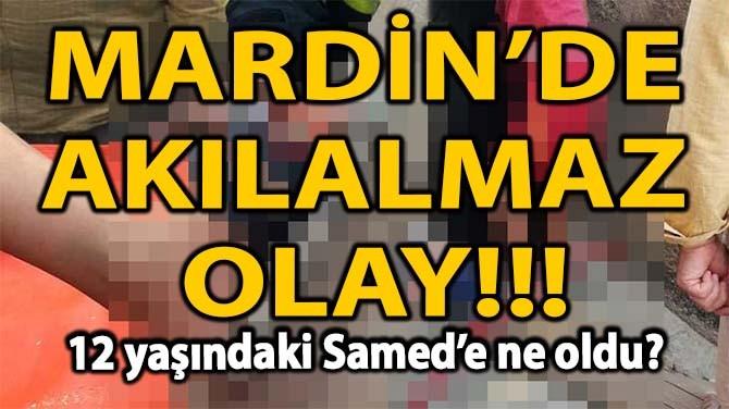 MARDİN'DE AKILALMAZ OLAY!!!