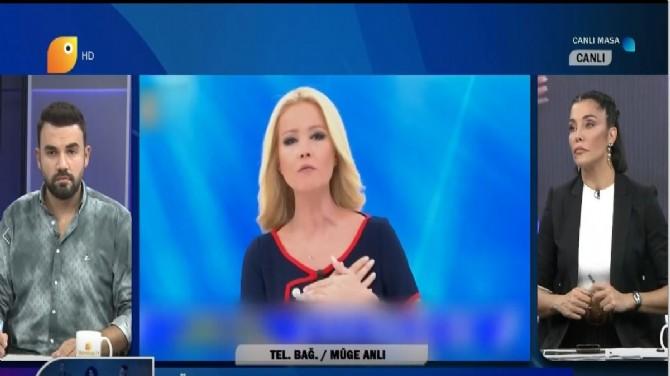 MÜGE ANLI UÇANKUŞ TV CANLI YAYININDA MERAK EDİLENLERİ YANITLADI!