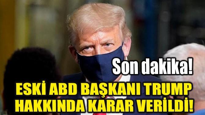 DONALD TRUMP AKLANDI!