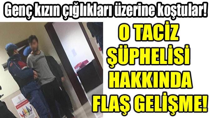 HALKI SOKAĞA  DÖKEN TACİZ  ŞÜPHELİSİ TUTUKLANDI!