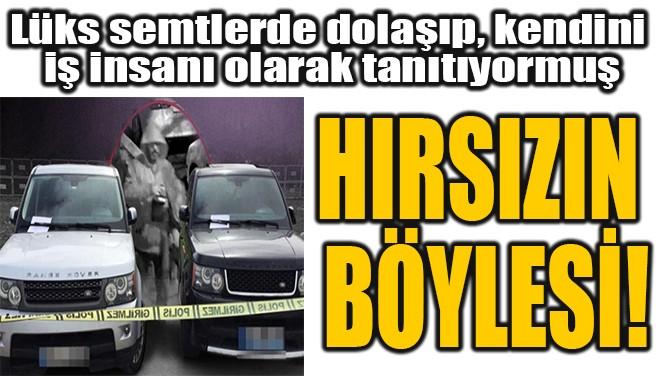HIRSIZIN  BÖYLESİ!