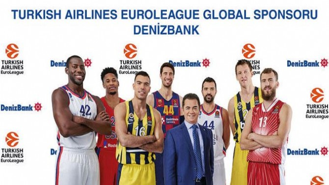 DENİZBANK, EUROLEAGUE  SPONSORU OLDU!