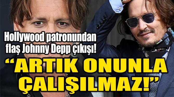 """""""ARTIK ONUNLA  ÇALIŞILMAZ!"""""""