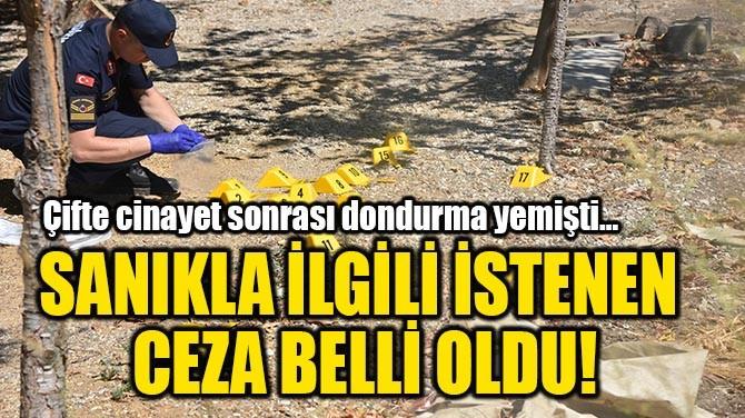 SANIKLA İLGİLİ İSTENEN CEZA BELLİ OLDU!
