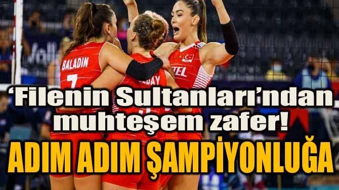 'FİLENİN SULTANLARI'NDAN MUHTEŞEM ZAFER!