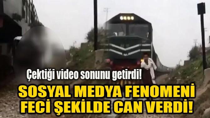 SOSYAL MEDYA FENOMENİ FECİ ŞEKİLDE CAN VERDİ!