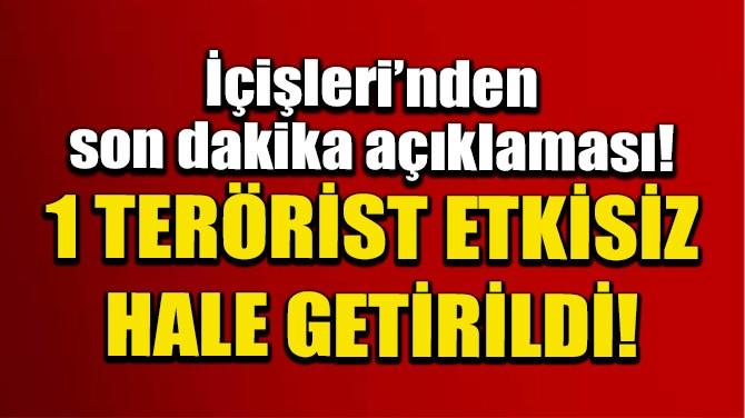 İÇİŞLERİ'NDEN SON DAKİKA AÇIKLAMASI!