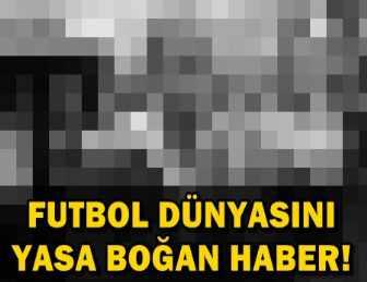 YILDIZ FUTBOLCU HAYATINI KAYBETTİ...