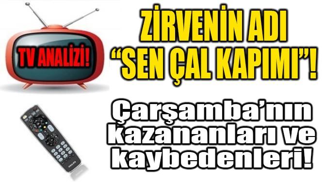 """ZİRVENİN ADI """"SEN ÇAL KAPIMI""""!"""