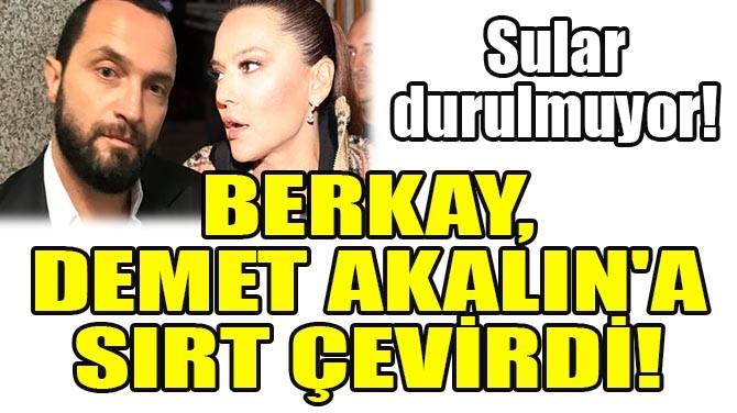 BERKAY, DEMET AKALIN'A SIRT ÇEVİRDİ!