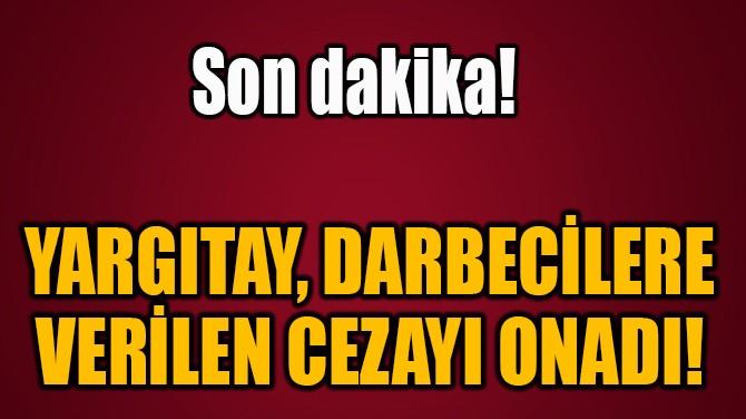 YARGITAY, DARBECİLERE  VERİLEN CEZAYI ONADI!
