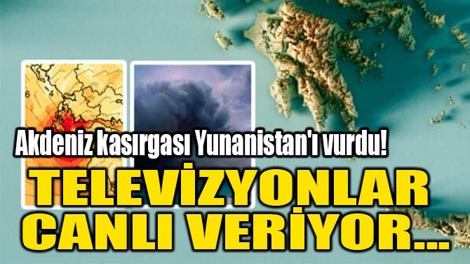 TELEVİZYONLAR  CANLI VERİYOR...