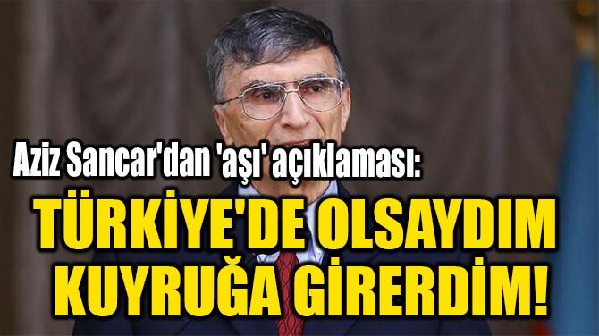TÜRKİYE'DE OLSAYDIM  KUYRUĞA GİRERDİM!