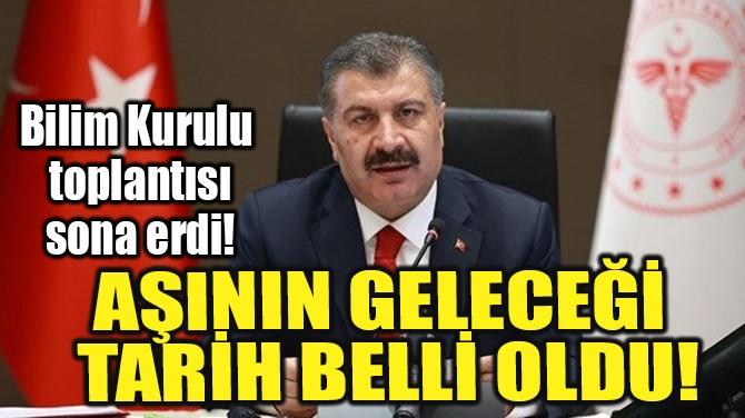 BİLİM KURULU TOPLANTISI SONA ERDİ!.
