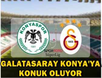 GALATASARAY KONYA'DA KÜKREDİ! MAÇ SONUCU: 2 - 0!..