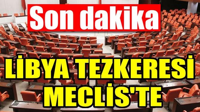 Libya Tezkeresi Meclis'te... ile ilgili görsel sonucu