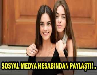 HANDE SORAL'DAN KARDEŞİ BENSU SORAL'A TEBRİK!..