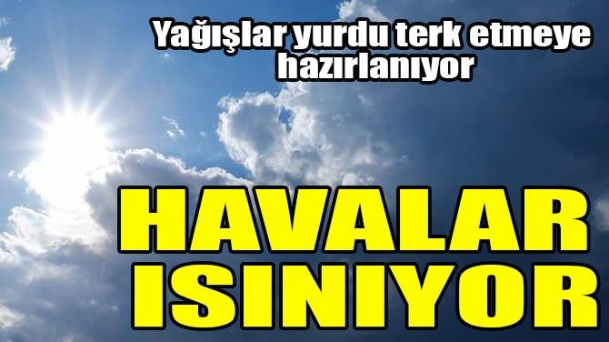 HAVALAR ISINIYOR
