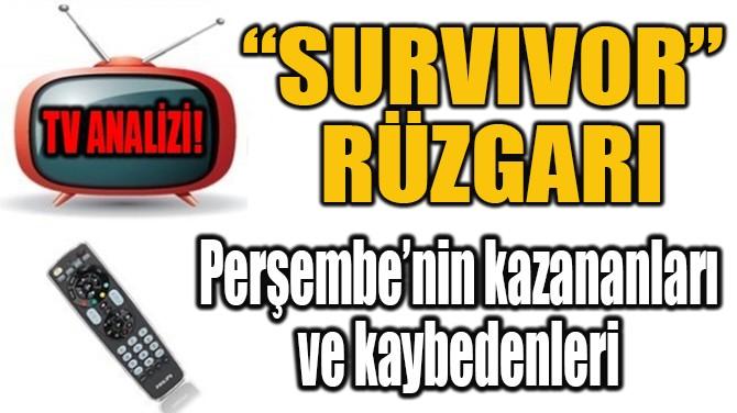 """""""SURVIVOR"""" RÜZGARI"""