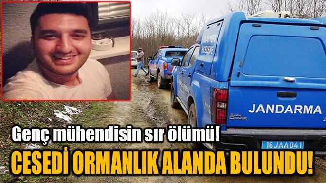 CESEDİ ORMANLIK ALANDA BULUNDU!