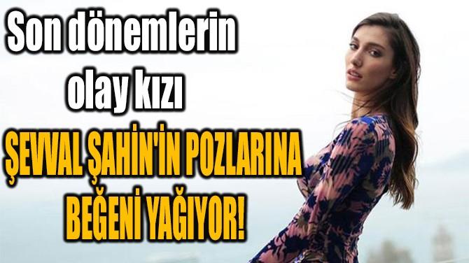 ŞEVVAL ŞAHİN'İN POZLARINA BEĞENİ YAĞIYOR!
