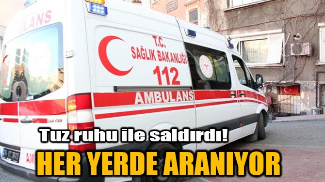 HER YERDE ARANIYOR
