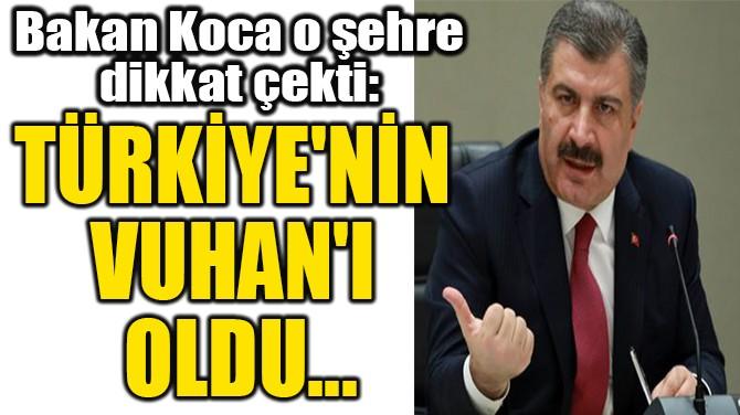 """""""TÜRKİYE'NİN  VUHAN'I  OLDU..."""""""