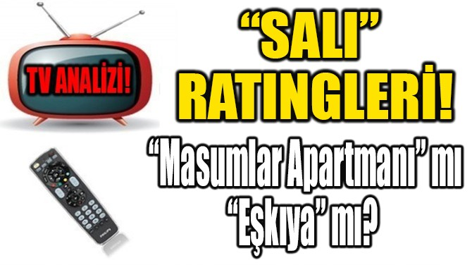 """SALI""  RATINGLERİ!"