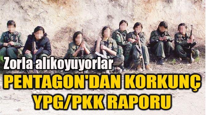 PENTAGON'DAN KORKUNÇ YPG/PKK RAPORU