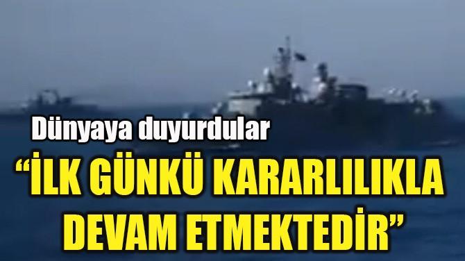 """""""İLK GÜNKÜ KARARLILIKLA  DEVAM ETMEKTEDİR"""""""