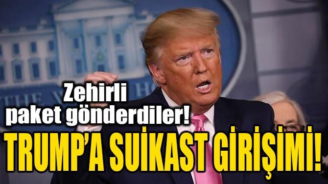 TRUMP'A SUİKAST GİRİŞİMİ!