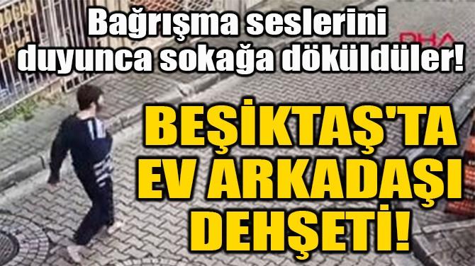 BEŞİKTAŞ'TA  EV ARKADAŞI  DEHŞETİ!