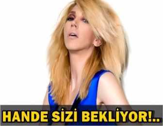 HANDE YENER BAMBAŞKA BİR SEKTÖR İÇİN KOLLARI SIVADI!..