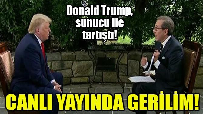 CANLI YAYINDA GERİLİM!