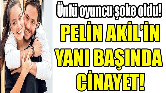 PELİN AKİL'İN YANI BAŞINDA  CİNAYET!