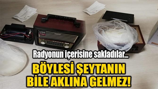 BÖYLESİ ŞEYTANIN BİLE AKLINA GELMEZ!