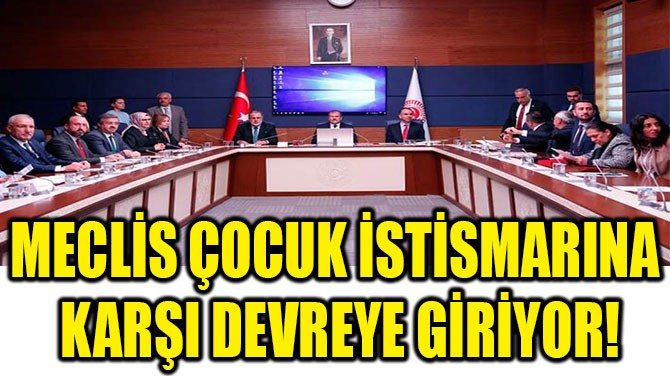 MECLİS ÇOCUK İSTİSMARINA KARŞI DEVREYE GİRİYOR!