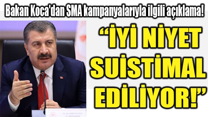 """""""İYİ NİYET SUİSTİMAL  EDİLİYOR!"""""""